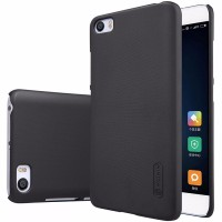 terbaru Nillkin Super Frosted Shield Hard Case for Xiaomi Mi5 Black