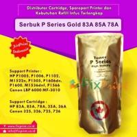 Serbuk Toner P Series Gold, Printer HP P1005 P1006 P1102 M1522nf