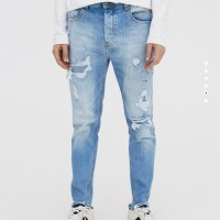 TERLARIS Celana Ripped Jeans PB original Not Nudie Mexx Cheap Monday