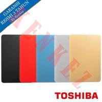 Toshiba Canvio Alumy HDD External / Hardisk Eksternal 1TB USB3.0