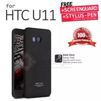 HTC U11 U 11 Imak Armor Soft Case Full Back Cover Casing Sarung Bumper