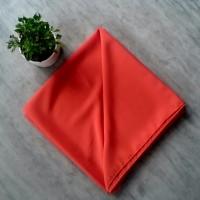 Kerudung Segi Empat Polos Orange