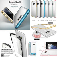 RINGKE Frame Bumper Clear Hard Soft Case Samsung Galaxy Note FE