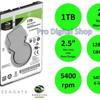 SEAGATE BARRACUDA INTERNAL HDD 1TB /HDD LAPTOP 2.5