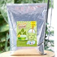 Jual Bubuk Minuman Bubble Drinks 1Kg Rasa Green Tea Bubuk Murah
