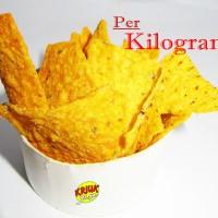 KERIPIK JAGUNG TORTILA BBQ ( KILOAN / CURAH )