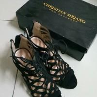 Jual wanita sepatu high heels christian siriano second murah preloved bekas Murah