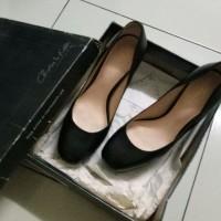 Jual sepatu high heels hitam black charles&keith cnk second murah preloved Murah