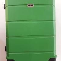 Koper Green Hard Case Keras 24 inch 4 Roda Dgn Combination Lock Angka