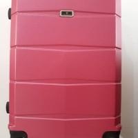 Koper Pink Hard Case Keras 24 inch 4 Roda Dgn Combination Lock Angka