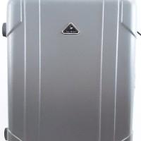 Koper GREY Abu Hard Case Keras 24 inch 4 Roda Dgn Combination Lock