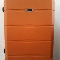 Koper Orange Hard Case Keras 24 inch 4 Roda Dgn Combination Lock Angka