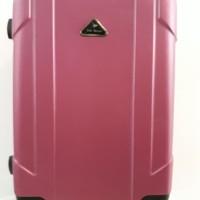 Koper Pink Hard Case Keras 24 inch 4 Roda Dengan Combination Lock