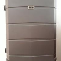 Koper Grey Hard Case Keras 24 inch 4 Roda Dgn Combination Lock Angka