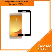 Tempered Glass Samsung J7 Max Plus Full Cover Full Color