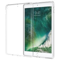 """Jelly Case New IPad 2018 9.7"""" Cover jelly soft case rubber Transparant"""