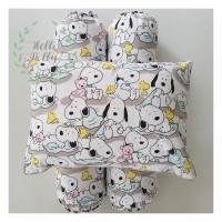 Bantal Guling Bayi Snoopy- Infant Set (Isi dan Sarung)