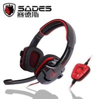 Headset Sades SA-901 USB Gaming 7.1 Sound