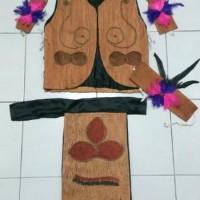 Baju Kostum Karnaval Anak Adat Papua Limited