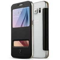 Baseus Yuanse Series Window Case for Samsung Galaxy S6   Pelindung