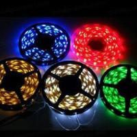 Lampu LED Strip Flexible Roll 5 Meter 6W IP65 atau IP 44 SMD