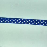 1 Roll Pita Motif Bintang 13mm Biru