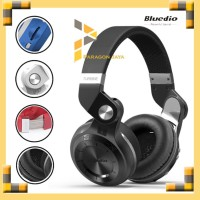 Bluedio T2+ Turbine Hurricane Headphone Bluetooth Wireless 4.1 - Hitam