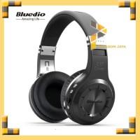 Bluedio H+ Turbine Hurricane Wireless Headphone Bluetooth 4.1 HITAM
