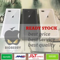 (PROMO 8 Plus 256gb) iPhone 8+ 256 gb GREY BNIB Garansi apple 1 thn