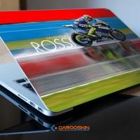 Garskin Laptop Axioo 17 Inch Valentino Rossi Custom (Luar Saja)