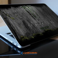 Garskin Laptop Axioo 17 Inch Monster Energy Custom (Luar Saja)
