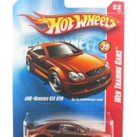 Hotwheels Mercedes AMG CLK DTM Web Trading Cars Brown Akta