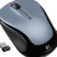 Jual Mouse Wireless Logitech M325 Dark Grey Keren