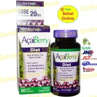 Jual Natrol Acaiberry Diet Acai & Green Tea Super Foods, 60 Kapsul