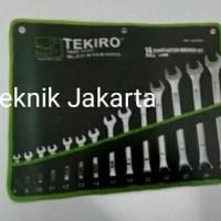 Dijual Kunci Ring Pas Set ( 8-32 Mm ) 14 Pcs Tekiro Unik