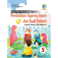 Buku Pendidikan Agama Islam dan Budi Pekerti SD Kelas 5 Kur. 2013 Rev