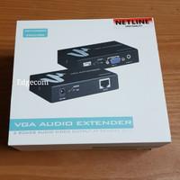 VGA EXTENDER 100M + Audio NETLINE
