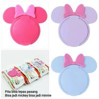wet tissue cover lid tutup tisu basah mickey mini mouse
