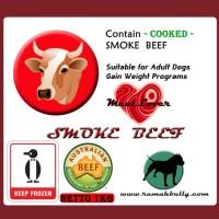 DOG FOOD/CAT FOOD/RAW FOOD/MEATLOVER SMOKE BEEF/MAKANAN ANJING-KUCING