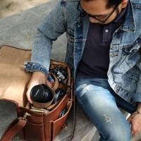 Grosir Tas Kulit untuk Kamera DSLR Terlaris Tokopedia