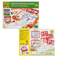 Mainan Edukasi Anak Creative Painting Board Papan Tulis Magnetic Board