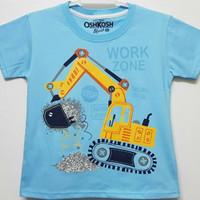 Baju kaos karakter anak laki-laki work zone 7-10