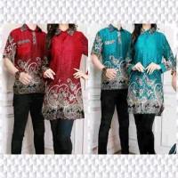Jual Baju Batik Atasan Muslimah Couple Nana - Pakaian Pesta Murah Murah