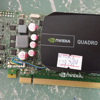 VGA N-VIDIA QUADRO 600 1GB DDR3 128BIT BEKAS