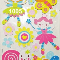 3D Wall Sticker Besar Tipe 1005-1008