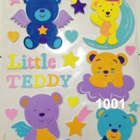 3D Wall Sticker Besar Tipe 1001-1004