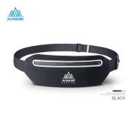 Aonijie Waist Bag W922 - Tas Pinggang Lari Sepeda Gym Outdoor - BLACK