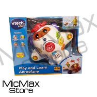 Vtech Baby Play And Learn Aeroplane Mainan Original Asli
