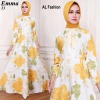 Gamis Syari Maxi Emma 23 / Baju Muslim/ Pakaian Muslim
