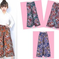 Celana Kulot Batik Anak 3 - 5 Tahun . Pc1160 Kualitas Terbaik